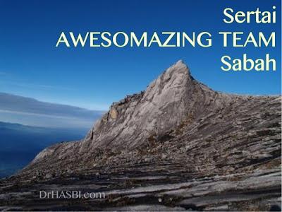 Awesomazing Team Sabah membuka peluang bisnes kpd org Sabah