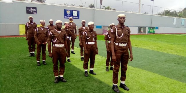 Eid-l-fitr: Oyo State Man O' War Provost Squad Commemorate With Muslim Members