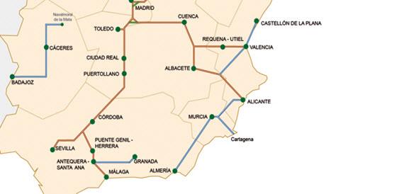 107 millones para el AVE a Almería en 2015