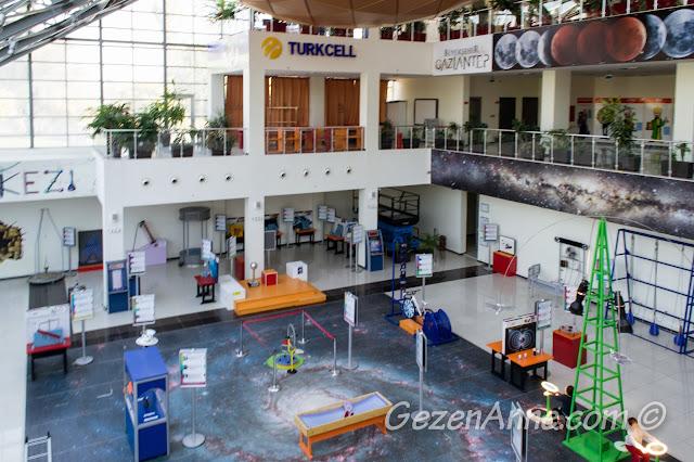 bilim merkezi ortamı, Gaziantep