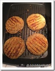 Veggyburger di lenticchie vegan17