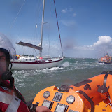 22 May 2011 – ALB towing previously grounded yacht in Poole Harbour
