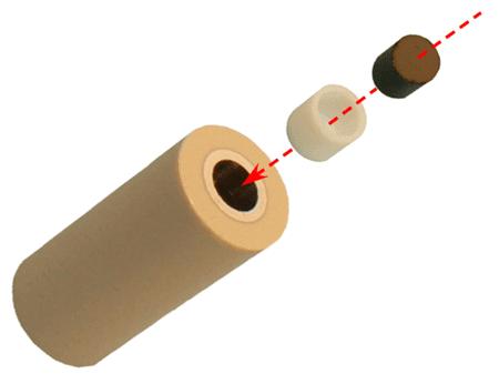 RRDEディスク交換式電極