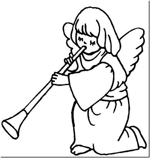 angeles colorear (8)