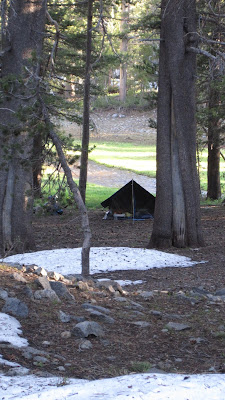 Our little tent in the woods©http://backpackthesierra.com