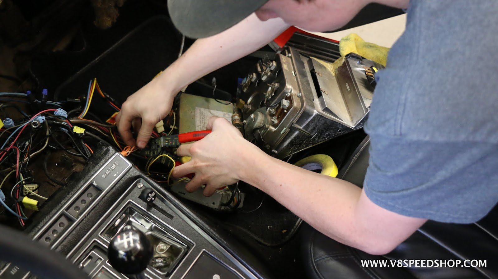 1969 Corvette Dash Wiring