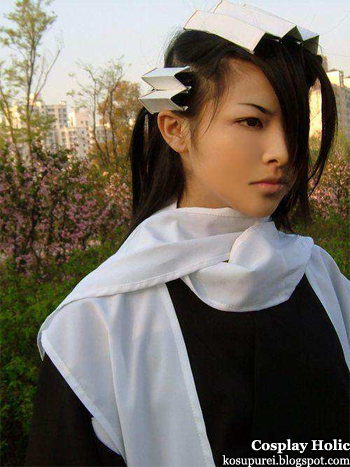 bleach cosplay - kuchiki byakuya