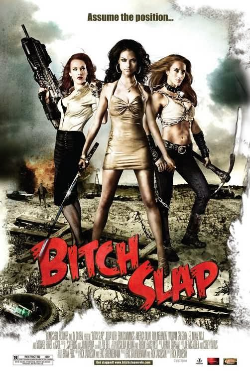 Poster Of Bitch Slap (2009) Full Movie Hindi Dubbed Free Download Watch Online At Alldownloads4u.Com