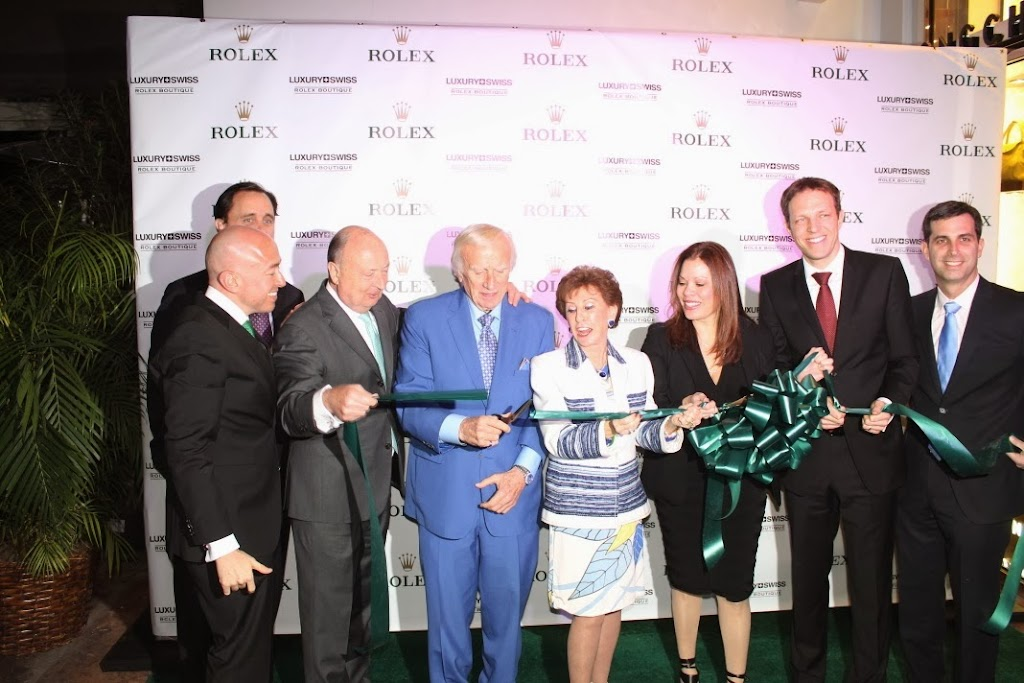 Rolex Miami Boutique Luxury Swiss LLC Ribbon Cutting 13