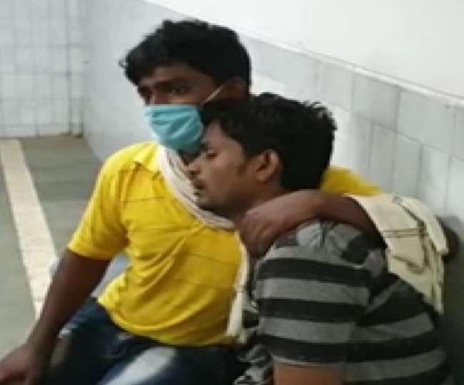 Coronavirus: सिद्धार्थनगर जिला अस्पताल की चौखट पर तीन घंटे तड़पता रहा ; डाक्टरों नेे छूआ तक नहीं, मौत