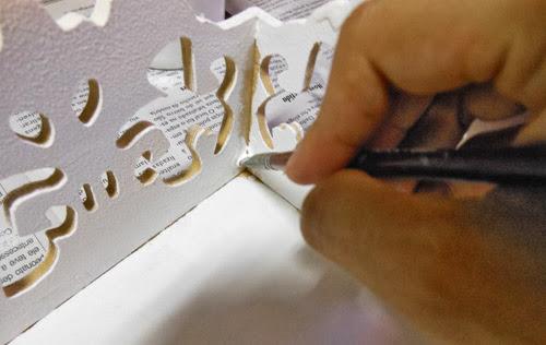 DIY como fazer bandeja decorativa de mdf