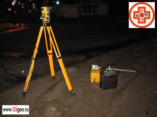 Комплект геодезического оборудования для разбивочных работ