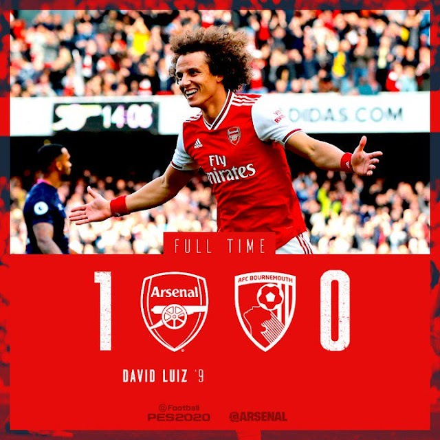 [DOWNLOAD VIDEO] Arsenal vs Bournemouth 1-0 – Highlights