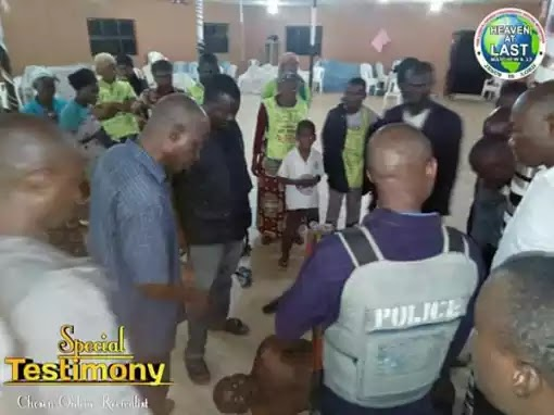 Armed Robbers Enters Lords Chosen Pastor's Office To Cart Away Money…. Then This Happened (Photos)