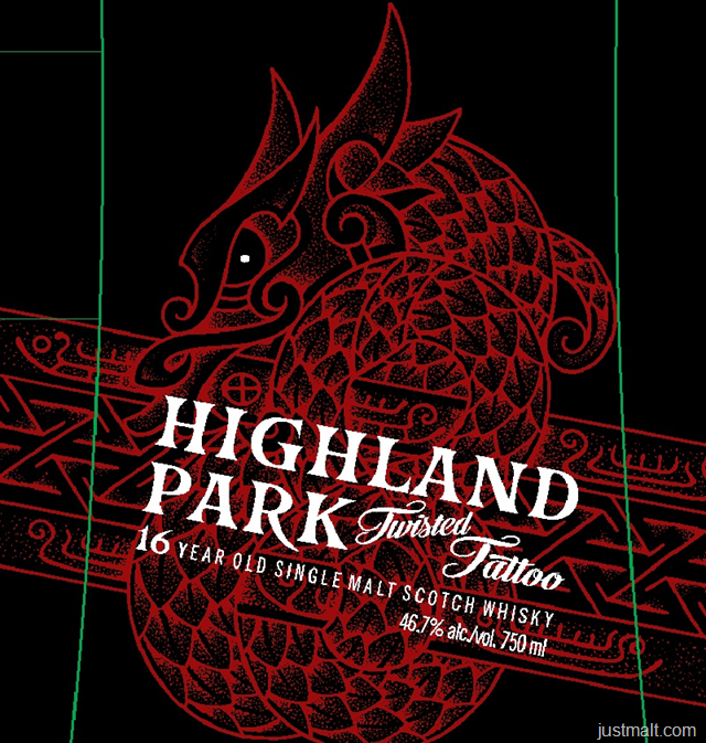 Highland Park Twisted Tattoo 16-Year Single Malt Scotch Whiskey