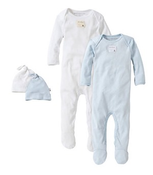 burts bees coverall set
