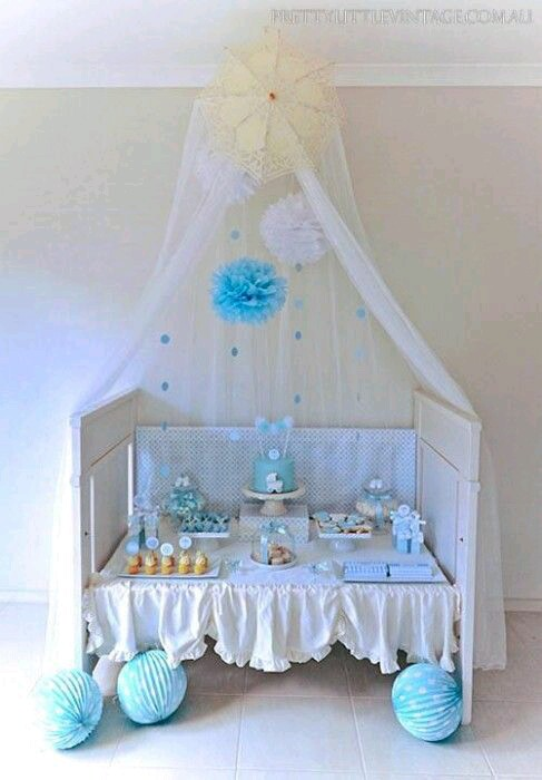 15 incre bles ideas que har n de tu baby shower un xito for Como decorar una cuna