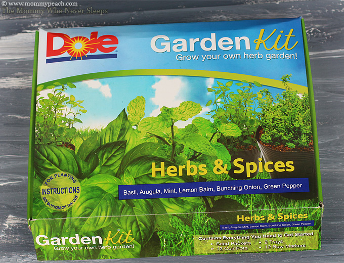 Starting an Herb Garden with DOLE Garden Kit