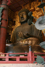 Daibutsu (Great Buddha) statue, Todai-ji Temple