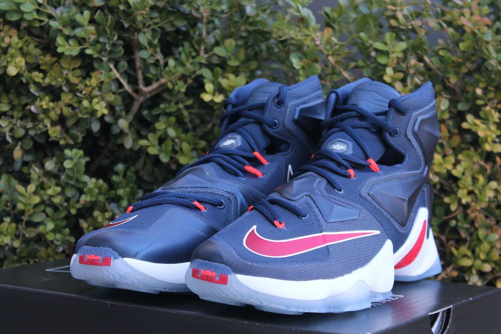 ... Closer Look at Nike LeBron XIII USA ... 678e62c2d8de