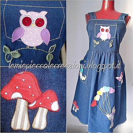 vestito decorato