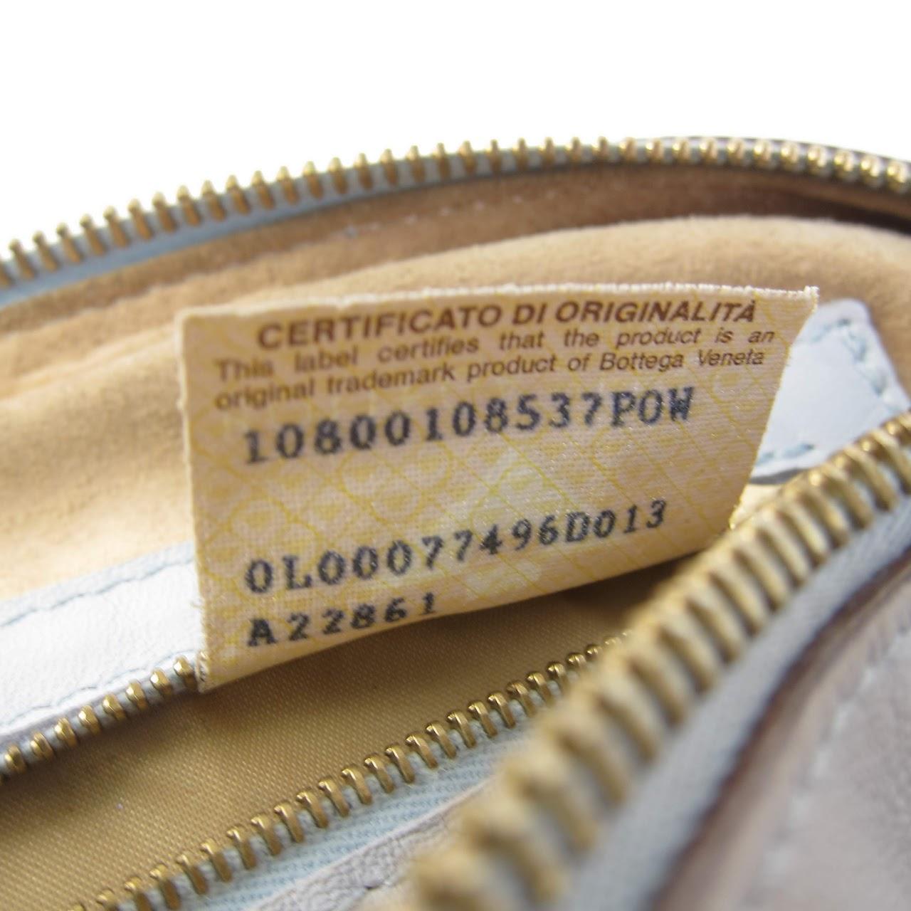 8f48cfef59 Bottega Veneta Vintage Woven Leather Handbag