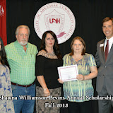 Scholarship Ceremony Fall 2013 - Shawna%2BWilliamson%2BBevins%2BAnnual%2BScholarship.jpg