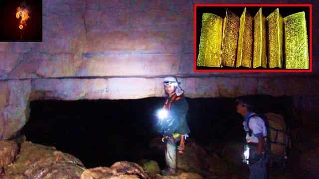 Η Αρχαία Χρυσή Βιβλιοθήκη με την Ιστορία της Ανθρωπότητας που Βρέθηκε σε Σπήλαια Φτιαγμένα από Γίγαντες (video)
