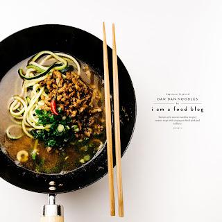 Dan Dan Zucchini Noodle Soup