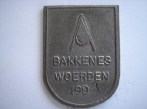 Naam: BakkenesPlaats: WoerdenJaartal: 1993