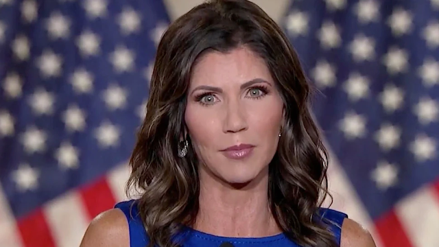 WATCH: Noem Shoots Down Idea Of Mandate For Double Masks: 'That's Not What America's About'