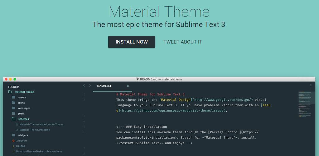 Material Theme