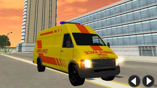 Télécharger Gratuit Ambulance Simulator Game Extreme APK MOD (Astuce) screenshots 2