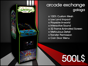 Arcade Exchange - Galaga [WIDE]