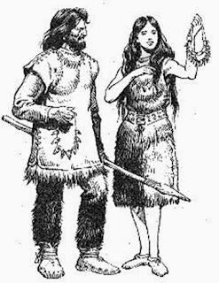 Ropas de la prehistoria en épocas de frío