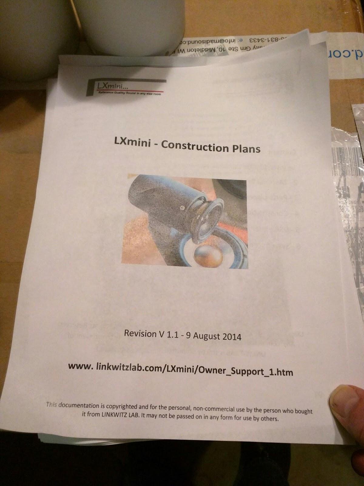 greay dean: LXmini build