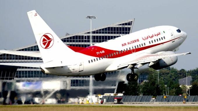 """Reanudación de vuelos: comunicado de oficial de """"Air Algérie"""" para los viajeros"""