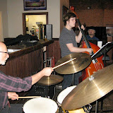 Will Call Sports Grill was the location for the March Jazz Jam, which saw the usual assortment of musicians and music fans come out for a lively evening of fine music and socializing.
