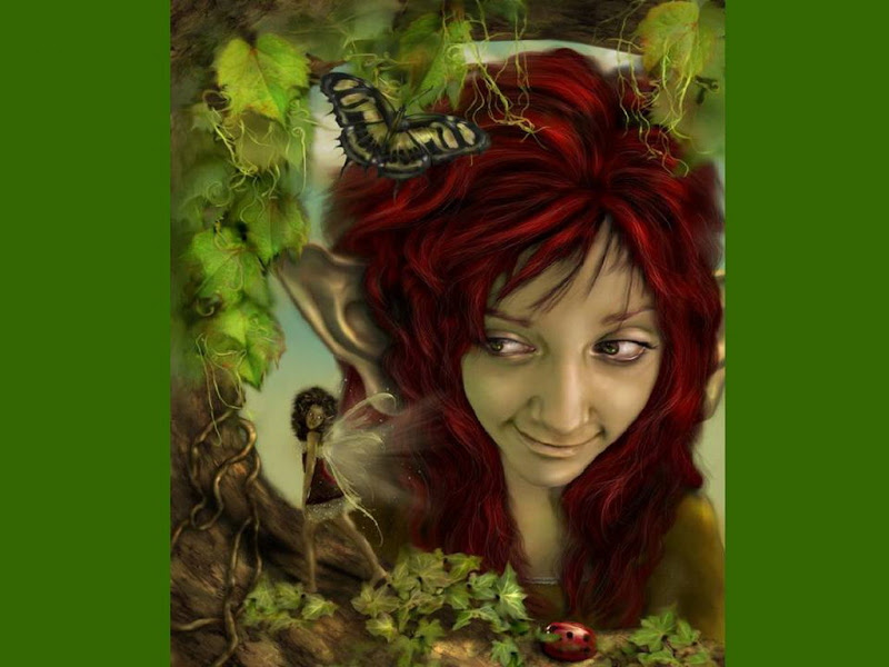 Green Elven Fairy, Elven Girls 2