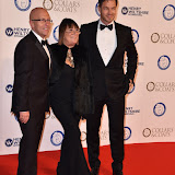 OIC - ENTSIMAGES.COM - Nicky Johnston, Hilary Alexander and Paul Sculfor at the  Collars & Coats Gala Ball London Thursday 12th November 2015 2015Photo Mobis Photos/OIC 0203 174 1069