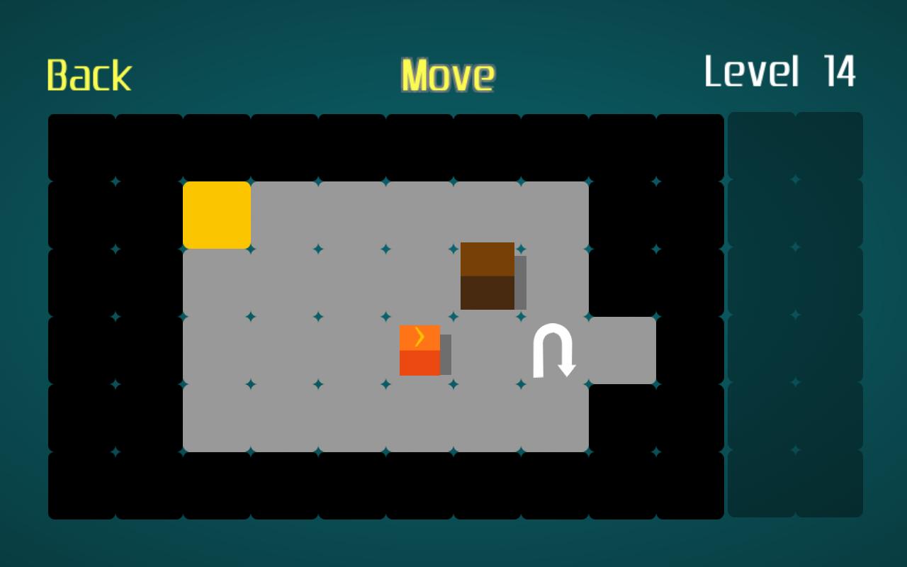 Cobain gan game simple puzzle buatan ane Lead The Box