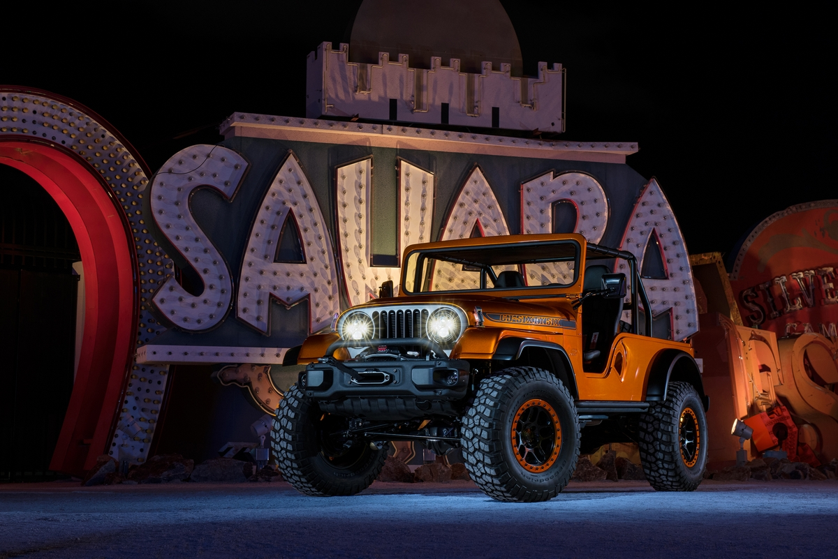 3 Inch Lift Kit >> Jeep - CJ66 Concept