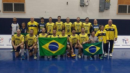 Brasil campeão panamericano de vôlei para surdos 1