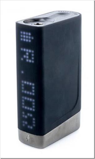 CIGGO Praxis Banshee Box Mod 2 thumb%25255B2%25255D - 【MOD】ドットLED「CIGGO PRAXIS VAPOR BANSHEE BOX MOD(バンシー)」レビュー。このレトロ&チープ感がたまらないワ!【温度管理TC/VW対応/電子タバコ】