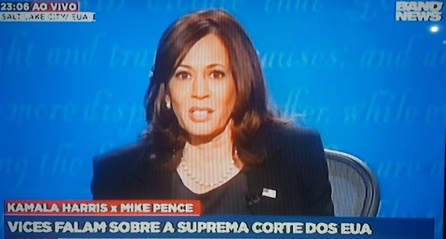 Debate presidencial: Candidata a vice-presidente dos EEUU abortista.