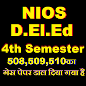 NIOS D.El.Ed Question Bank 2018