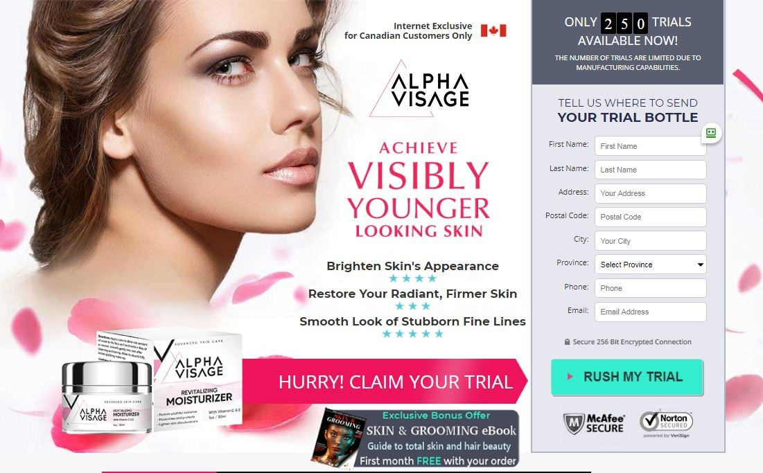 Alpha Visage Cream Canada Is More Benifitial From Other Beauty Cream?