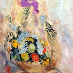 Marc Chagall, La Corbeille de fruit, 1927, Huile sur toile