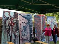 05 - Bokros Tamás somorjai művész képeit is megtekinthette a közönség.JPG