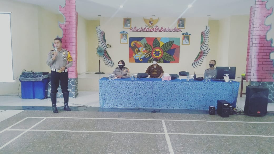 Police Goes To School, Sat Lantas Polres Ciko Sosialisasi Pendidikan Lalu Lintas (PLL)